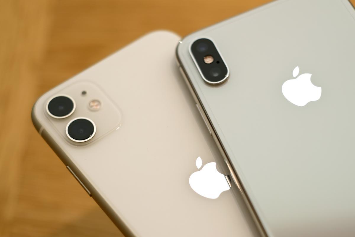 iPhone 11のホワイトの色合い