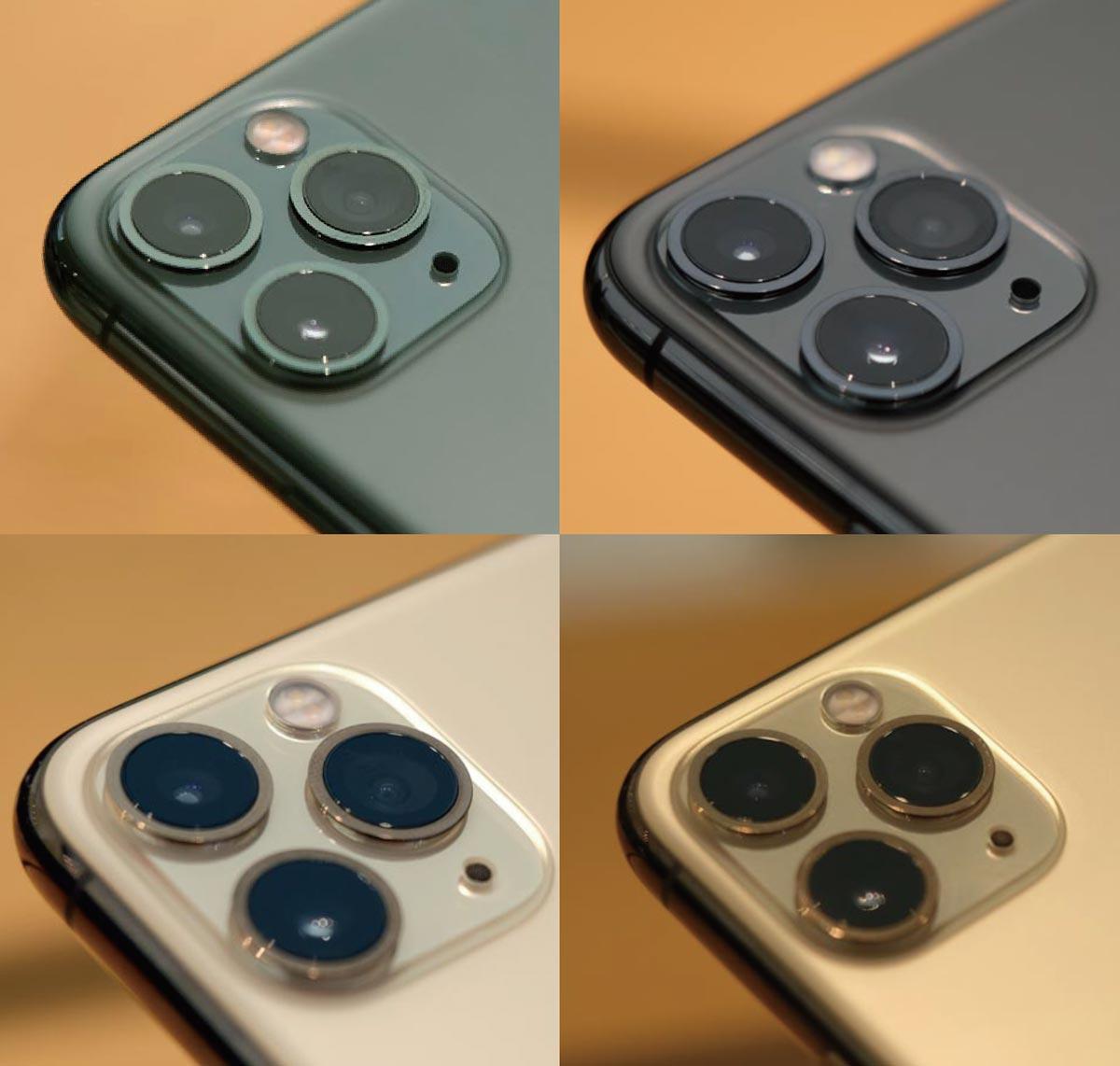 iPhone 11 Pro カラーラインナップ(実機比較)