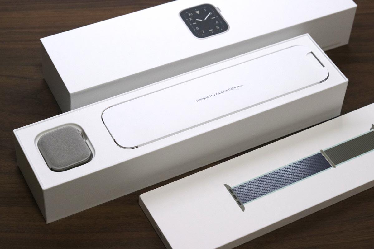 Apple Watch Edition 梱包