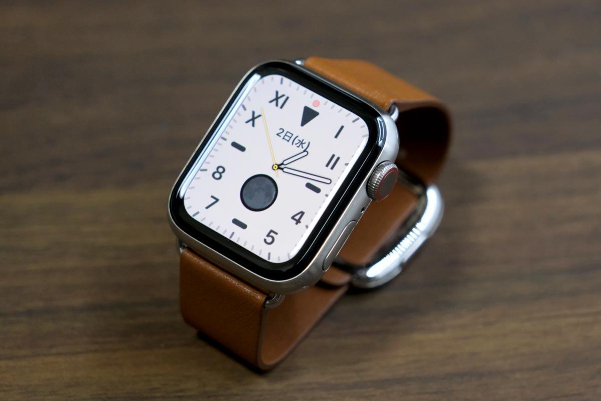 Apple Watch Edition チタニウム