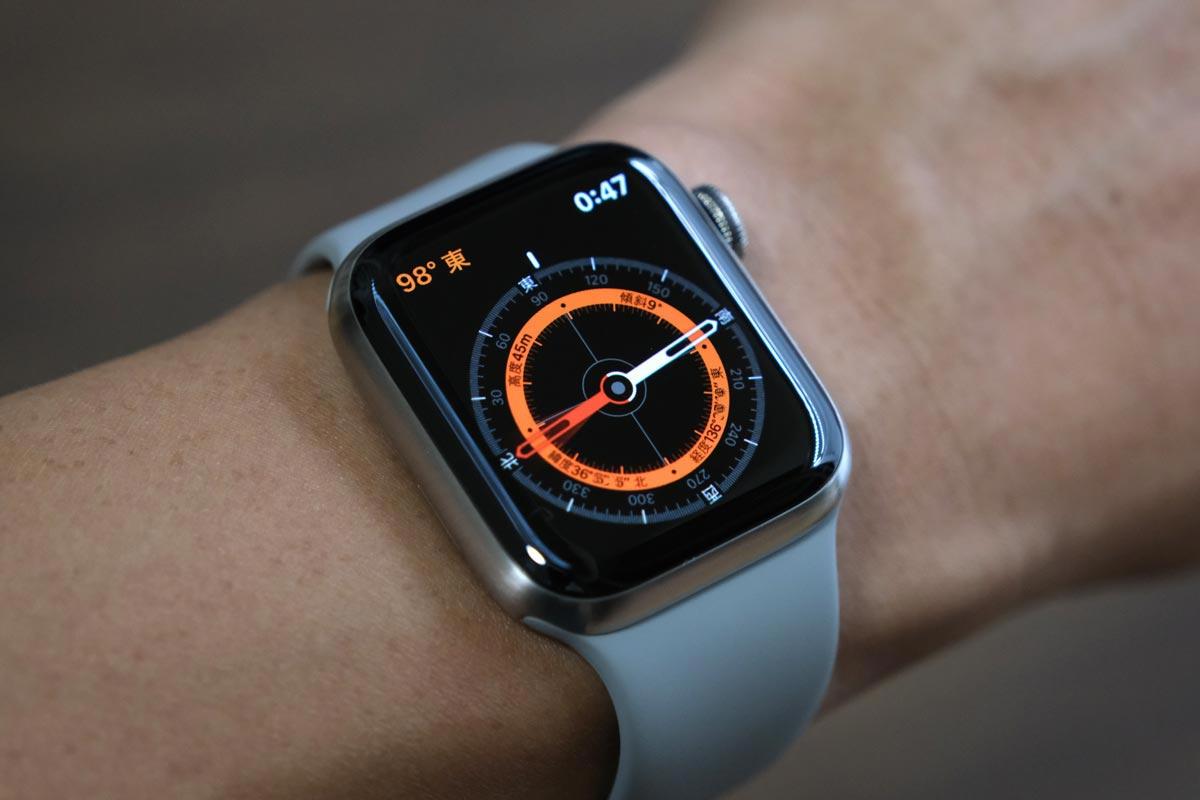 Apple Watch Edition コンパスに対応