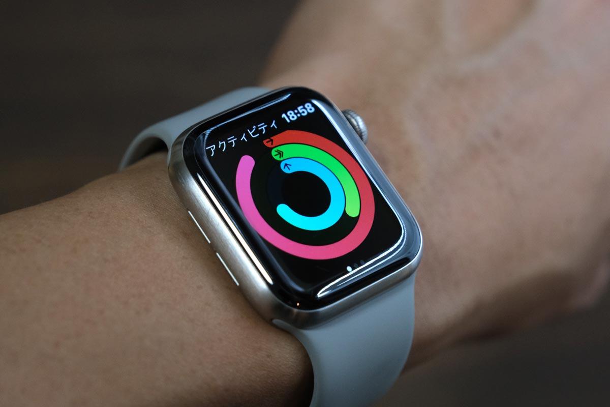 Apple Watchのアクティビティ