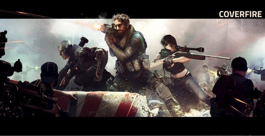 CoverFire プレイ中画面の写真