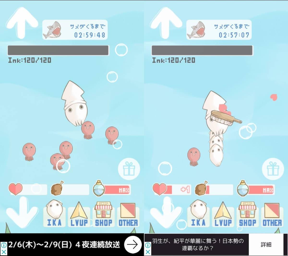 イカちゃん アプリ紹介画像