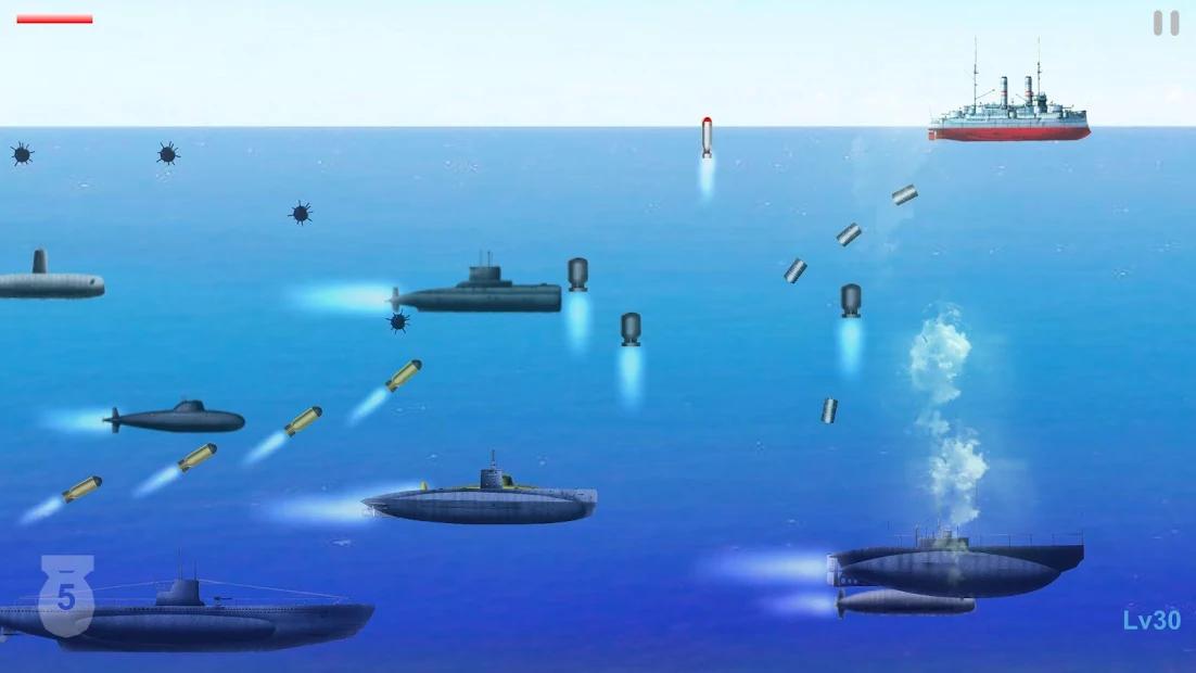 潜水艦戦争 アプリ紹介画像