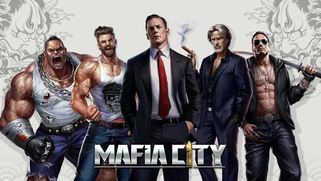 マフィアシティ ゲームタイトルが表示された写真