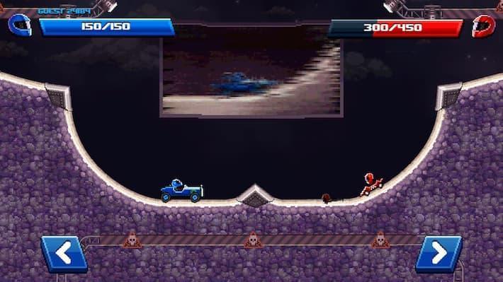 Drive Ahead! 対戦画面の写真