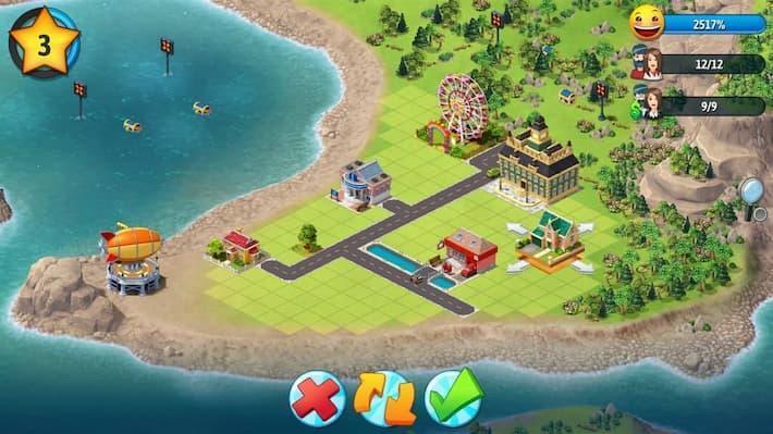 City Island 5 まちづくり画面の写真