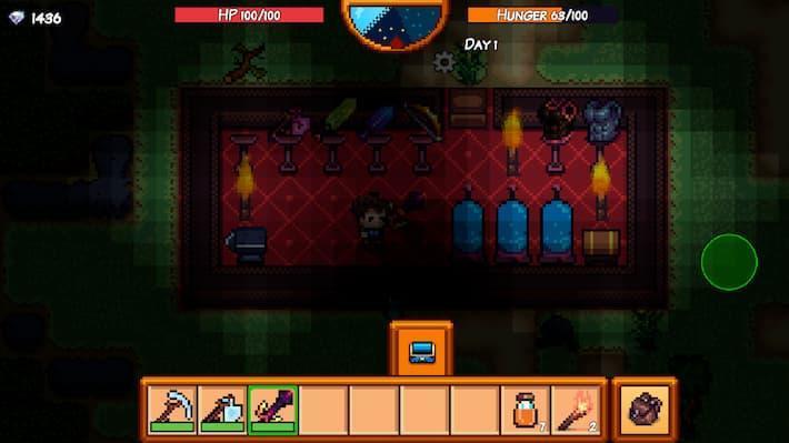 Pixel Survival Game 3 サバイバル中の写真