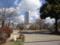 高崎公園と高崎市役所(高崎市)