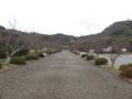安房神社の参道(館山市)