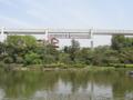 千葉公園と千葉モノレール(千葉市)