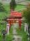 高屋敷稲荷神社 連続鳥居(郡山市)
