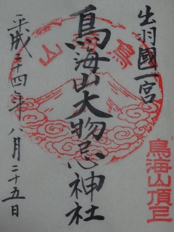 鳥海山大物忌神社 山頂御本社(遊佐町)
