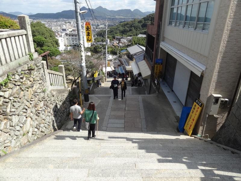 金刀比羅宮 参道商店街(琴平町)