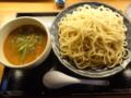 癒庵 完熟トマトとモッツァレラチーズつけ麺(酒田市)