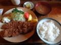 とんかつ かつせい 特ロース+ご飯+なめこ汁(仙台市)