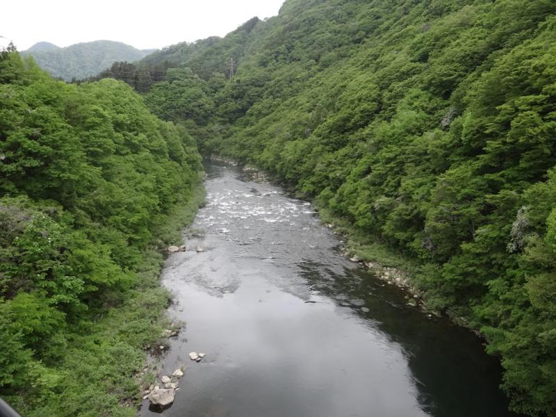 阿賀川(会津若松市)