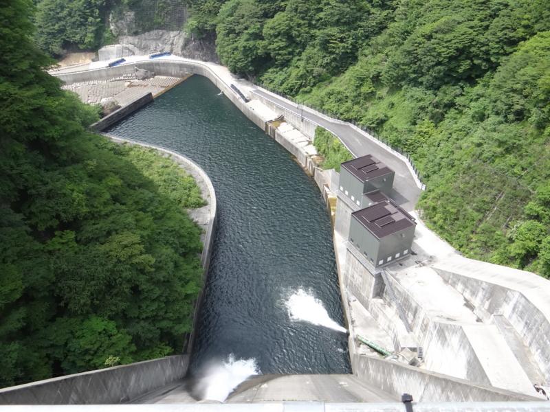 五十里ダム(日光市)
