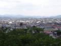 本荘公園からの景色(由利本荘市)