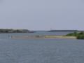 子吉川と日本海(由利本荘市)