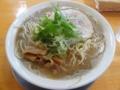 麺響 松韻 中華そば こってり(由利本荘市)