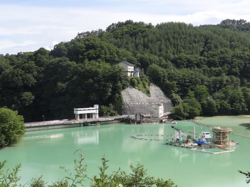 品木ダム(中之条町)