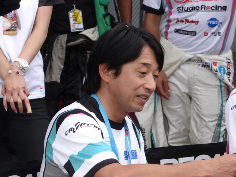 SUPER GT 第4戦 ピットウオーク(村田町)