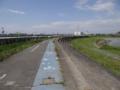 サイクリングロード(石巻市)