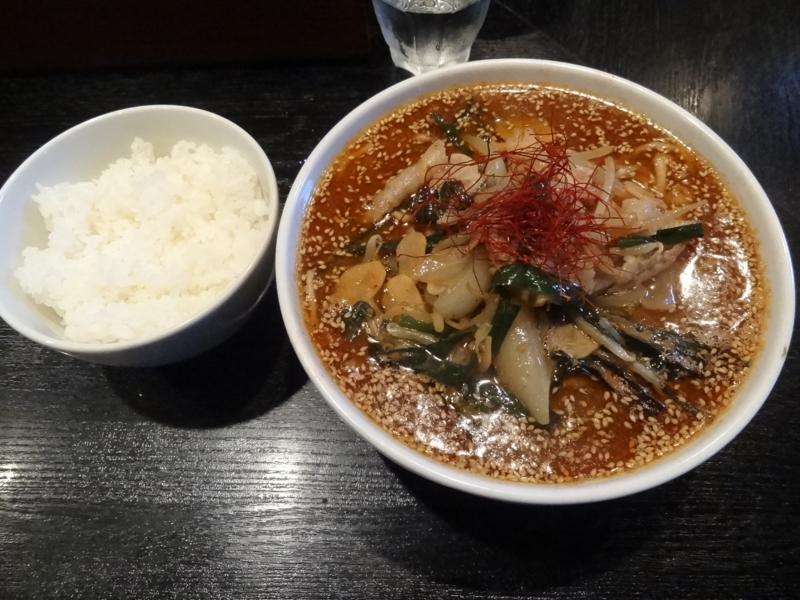 麺屋 とがし 夏☆DA☆甘辛スタミナ麺(仙台市)