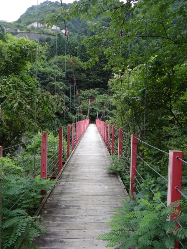 想い出の橋(黒石市)