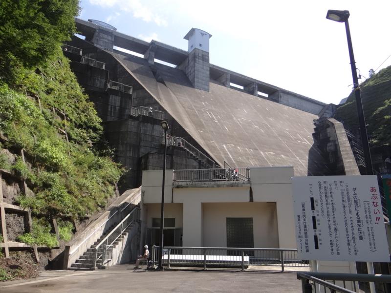 田沢川ダム(酒田市)