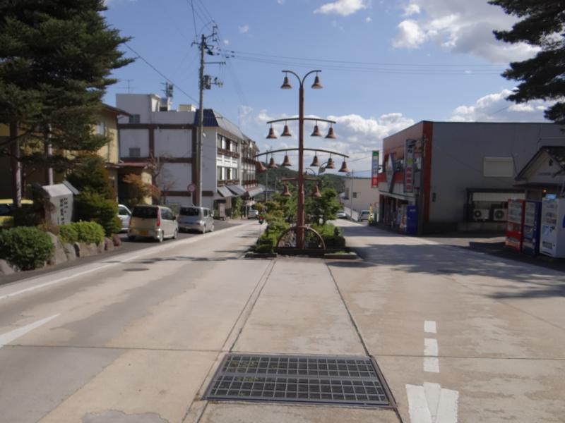 岳温泉街(二本松市)