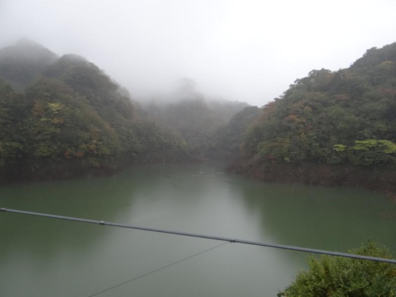 塩原ダム湖(那須塩原市)