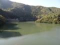 夏子ダム ダム湖(美馬市)