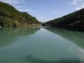 杉田ダム ダム湖(香美市)