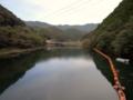 休場ダム ダム湖(香美市)