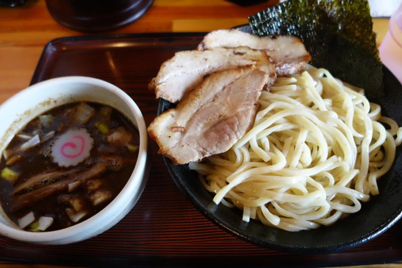 つけ麺 心心 魚介豚骨 濃厚チャーシューつけ麺(米沢市)