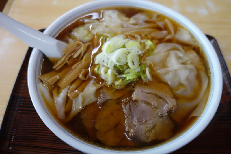 麺処 味龍 ワンタン麺(酒田市)