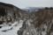 月光川と鳥海山(遊佐町)