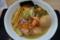 自家製麺中華そば 八縁 海老香る塩中華そば+節玉(岩沼市)