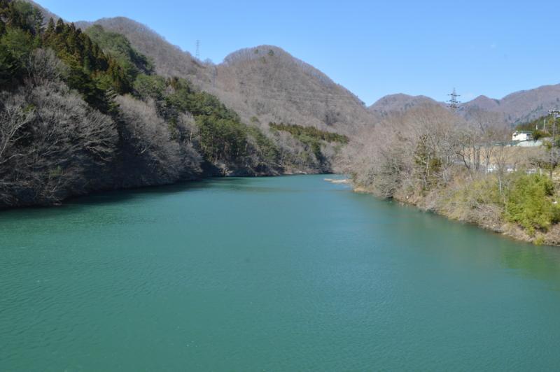 小網ダム ダム湖(日光市)