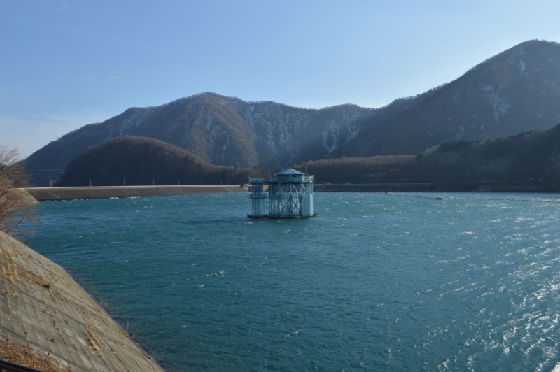 深山ダム(那須塩原市)