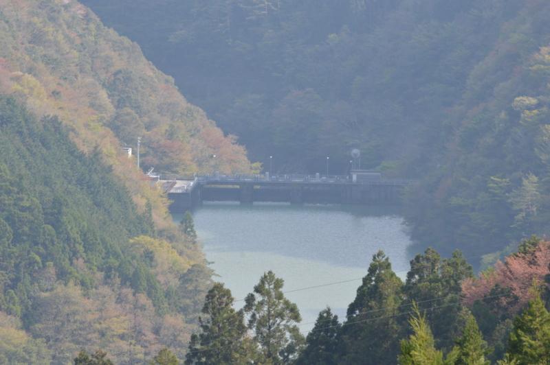 久木ダム(北川村)