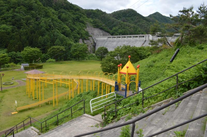 白水川ダム(東根市)