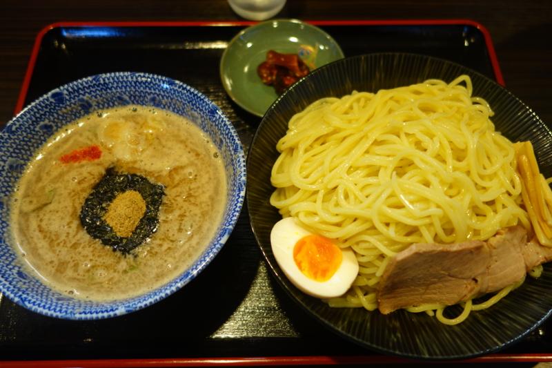 麺屋 暁 濃厚魚介つけ麺(天童市)