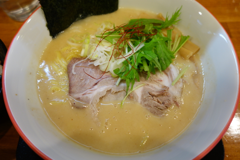 麺や 陽風 濃厚鶏豚魚介白湯(山形市)