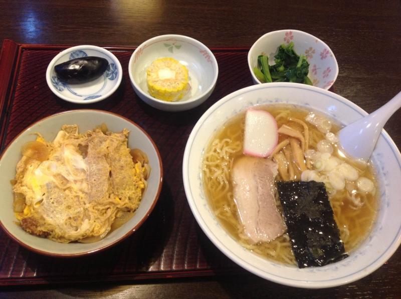 セノ食堂 Aセット(天童市)