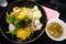 麺やダイニング きかん棒 きかん棒まぜ麺(山形市)