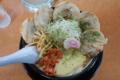 しゅんか食堂 海老味噌カレーチャーシュー(三川町)